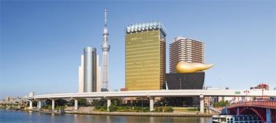 »Sushi für Anfänger: Tokyo Sky Tree und Asahi Beer Hall«