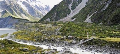 »Neuseeland für Wanderfreunde: Hooker Valley Track«