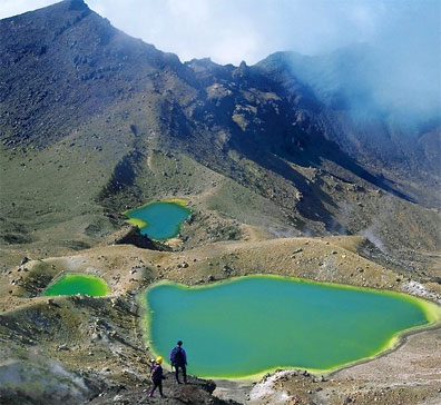 » Discover New Zealand: Tongariro Nationalpark Neuseeland «