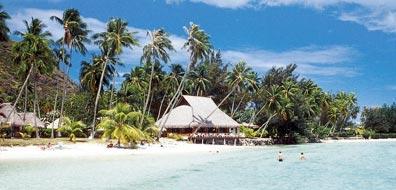»Tahiti Urlaub an einsamen Stränden und blauen Lagunen«