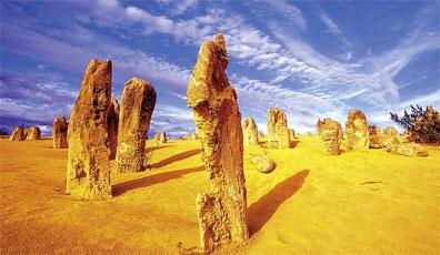 »Traumzeit Australien: Pinnacles, Nambung Nationalpark«