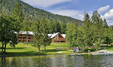 » Mächtige Rockies & Charmante Küste: Tyax Wilderness Resort «