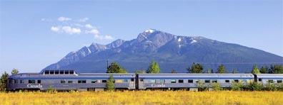 »Trans Canada Highway: VIA Rail Zugreise«
