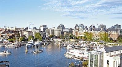»Zuhause in Westkanada: Victoria, Inner Harbour«