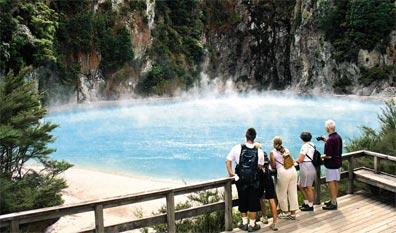 »Reise nach Neuseeland: Waimangu Volcanic Valley Walk«