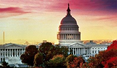»Glanzpunkte im Nordosten: Washington D.C., Capitol«