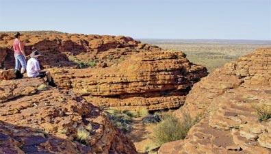 »Höhepunkte des Outbacks: Watarrka (Kings Canyon)«