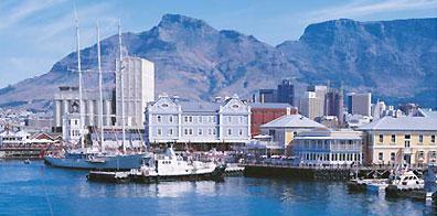 »Waterfront Kapstadt und der weltberühmte Tafelberg«