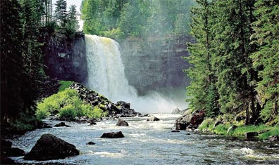 »Zuhause in Westkanada: Wells Gray Provincial Park«