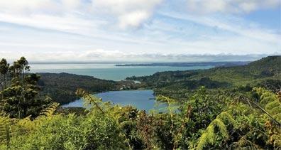 »Naturwunder Neuseelands: Westküste bei Auckland«
