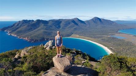 »Tasmanien aktiv erleben: Wineglass Bay«