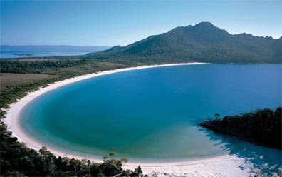 » Kreuz des Südens: Wineglass Bay «
