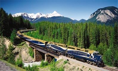 »Zugreisen durch Kanadas traumhafte Landschaft«