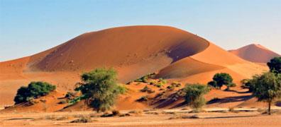 »Namibia Rundreise: Sossusvlei, die höchsten Dünen der Welt«