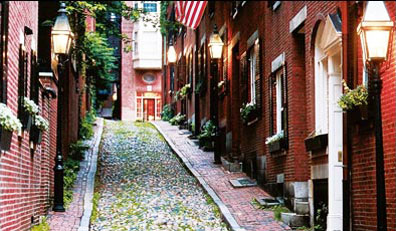 » Beacon Hill, Boston - Auf den Spuren der Siedler «