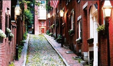 »Beacon Hill, Boston - Auf den Spuren der Siedler«