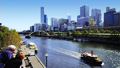 »Skyline Melbourne - Rundreise Australien erfahren«