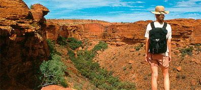 »Uluru Australien - Weltnaturerbe Blue-Mountains-Nationalpark«