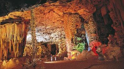 »Kleine Karoo & Gartenroute - Cango Tropfsteinhöhlen«