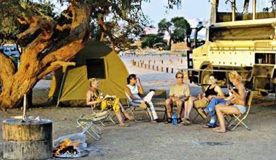 »Campingsafari Okavango-Delta, Chobe & Victoria Fälle«