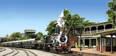 »Afrikas Perlen Rundreise - Rovos Rail Zugreise«