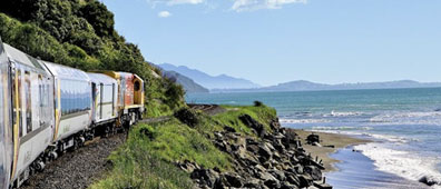 » Mit dem Coastal Pacific von Picton nach Christchurch «