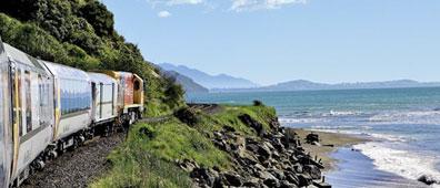 »Mit dem Coastal Pacific von Picton nach Christchurch«