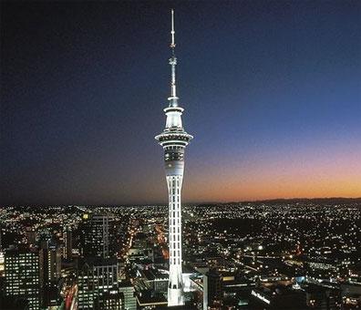 »Große Neuseeland Rundreise: Skytower Auckland«