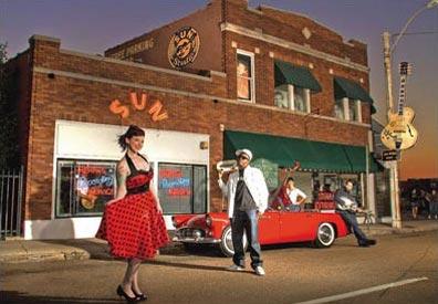 »Memphis, Sun Record Studio - Atlantic Dream USA Rundreise«