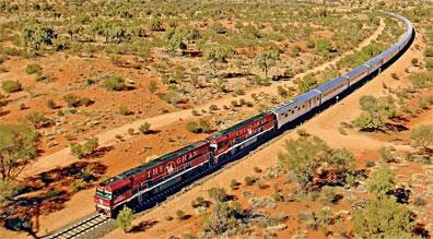 »Fahrt mit dem Zug Ghan - Australiens Glanzpunkte kompakt«