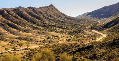 »Die große Schleife: Flinders Ranges Nationalpark«
