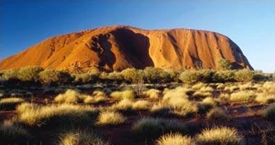 »Der Uluru (Ayers Rock), das Wahrzeichen Australiens«