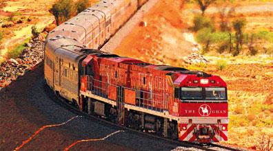 »The Ghan - Mit der Bahn durch Australien reisen«