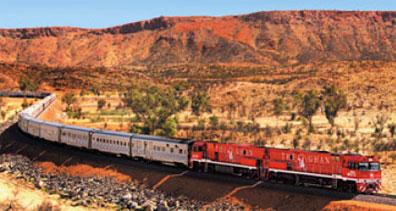 »Bahnfahren in Australien - The Ghan«