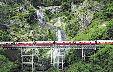 »Höhepunkte der Pazifikküste - Eisenbahn nach Kuranda«