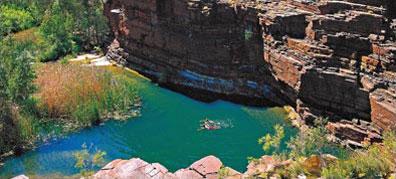 »Dales Gorge / Karijini Nationalpark - Westküste Australien«