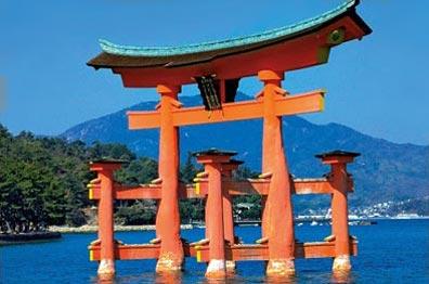 »Torii-Bogen, Miyajima - Studienreise Japan«