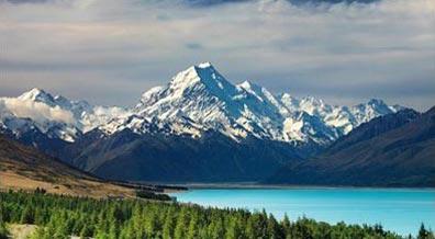 »Blick auf den Mount Cook - Rundreise Neuseeland«