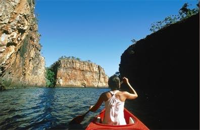 »Australienreise Crocodile Rock: Katherine Gorge«