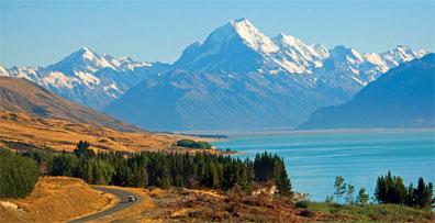 »Mount Cook Nationalpark - Reise Neuseeland auf eigene Faust«