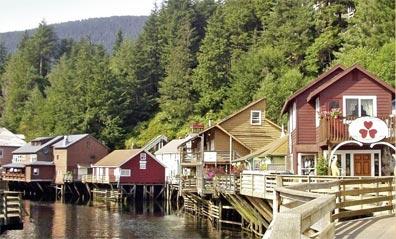 »Berge, Fjorde, Metropolen: Reise nach Ketchikan«