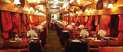 »Speisewagen Shongololo Express - Bahnreise Südliches Afrika«