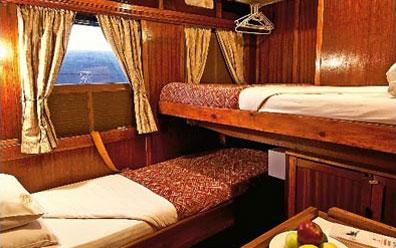 »Wohnbeispiel Gold Kabine - Shongololo Express«
