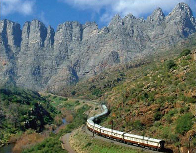 »Shongololo Express - Exklusive Zugreisen Südliches Afrika«