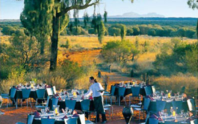 »Sounds of Silence Dinner - Ayers Rock Tagestour«