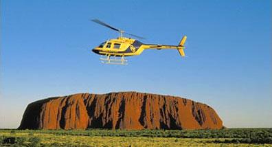 »Helikopter-Rundflug Ayers Rock - Tagestouren Ayers Rock«