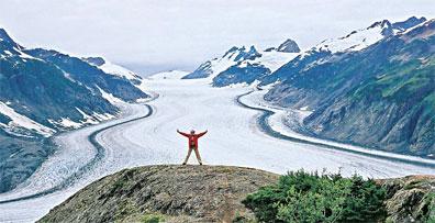 »Gletscher in der Nähe von Whitehorse, Best of Yukon & Alaska«