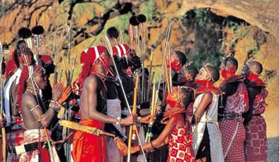 »Masai Mara National Reservat - Kenia Rundreise«