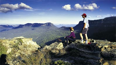 » Tagestour in die Blue Mountains «