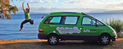 »Campmobile von JUCY - günstig quer durch Australien reisen«
